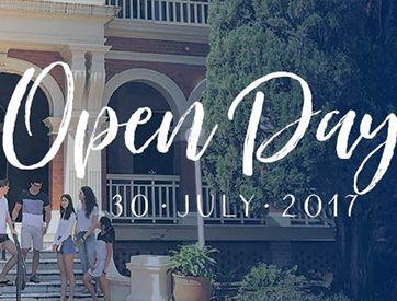 Open Day – 30 July 2017