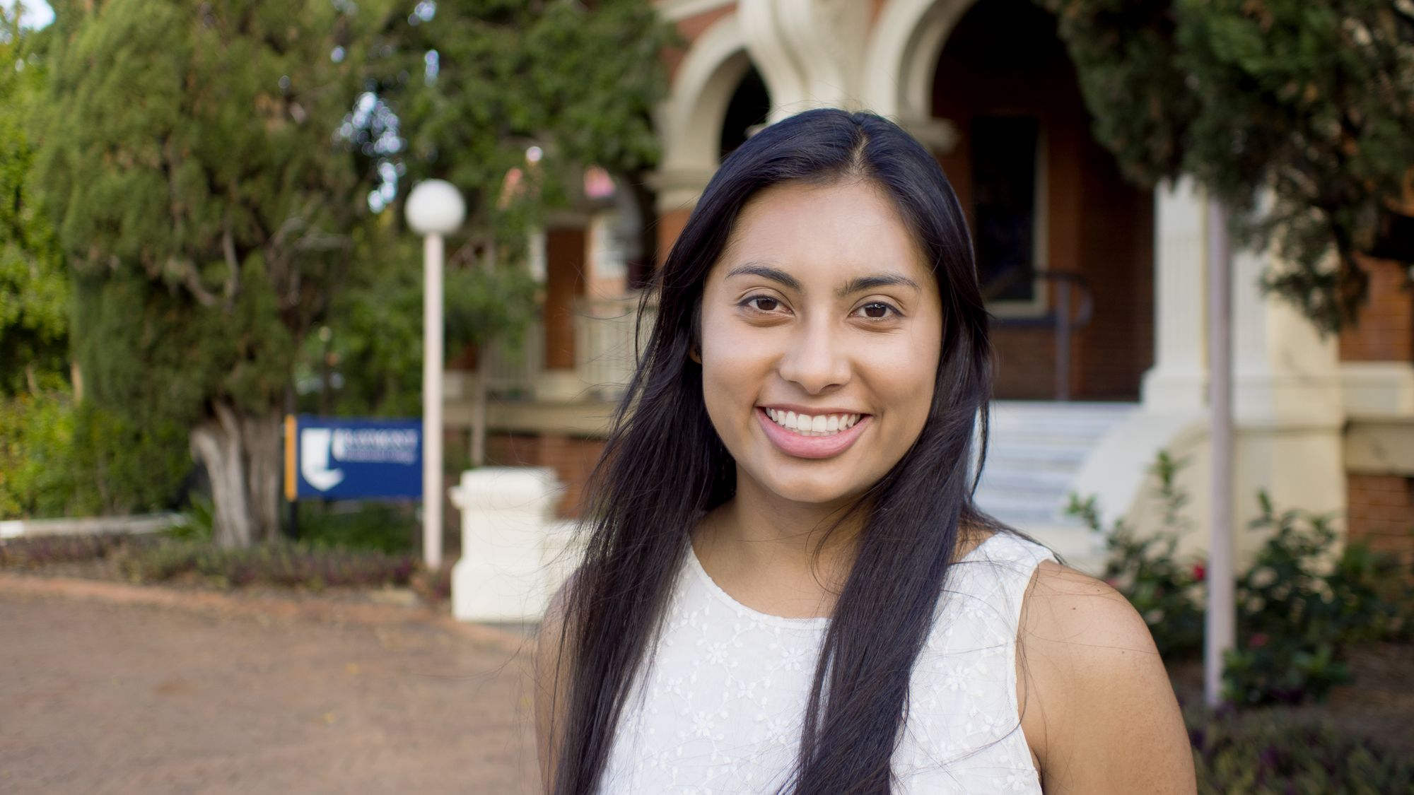 Meet Diana—international student from Colombia and Raymont resident!